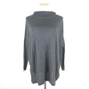 Zara Knit Size M Mock Neck Dolman Sweater